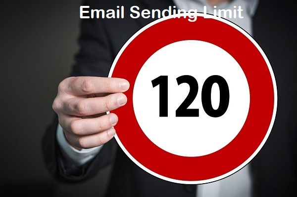 email sending limits
